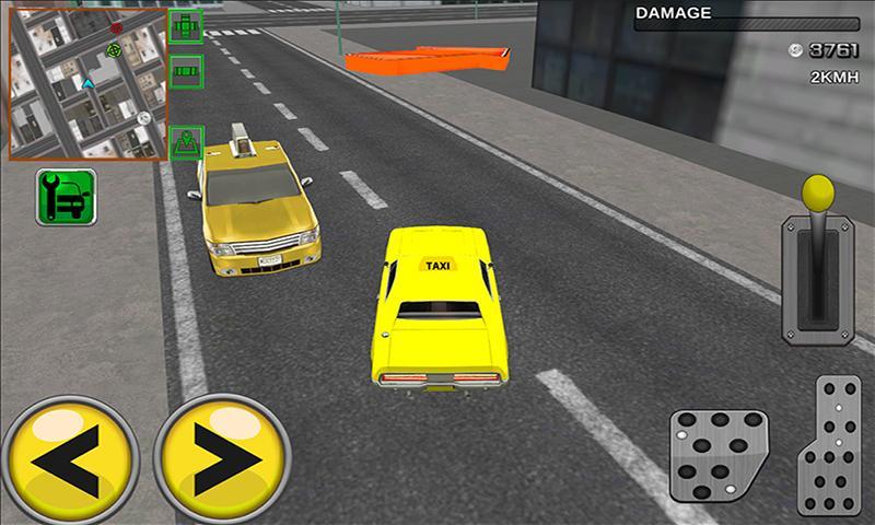 android Modern taxi racing 3D Screenshot 3