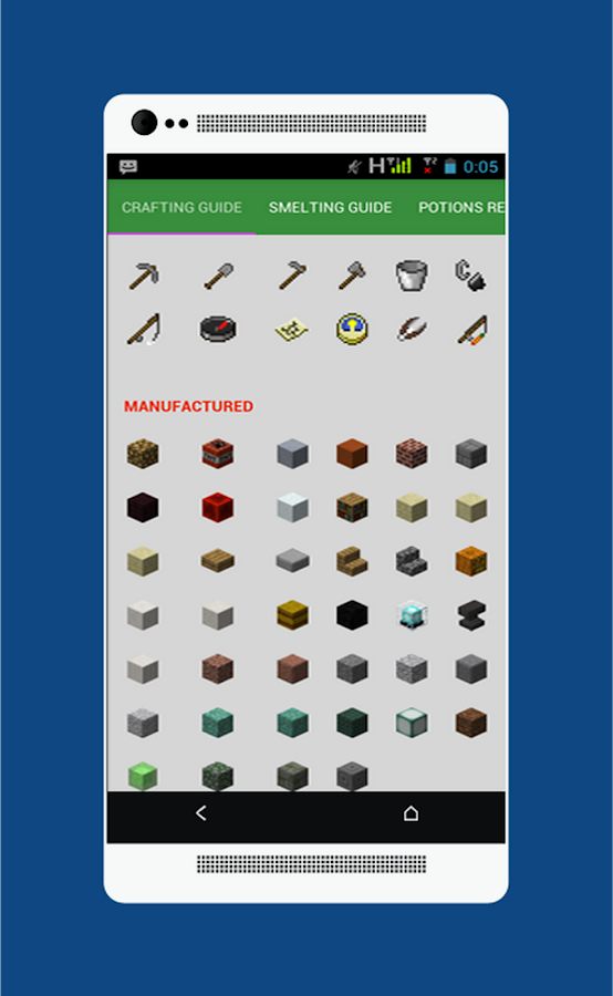 Crafting Guide For Minecraft- screenshot