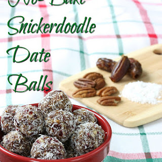 No-Bake Snickerdoodle Date Balls