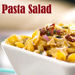 Sun Dried Tomato & Asiago Pasta Salad