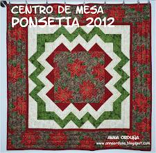 Photo: Centro de mesa - Ponsetia 2012