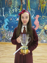 Photo: Jacqueline o'Halloran perpetual cup solo mime under 14's in feis