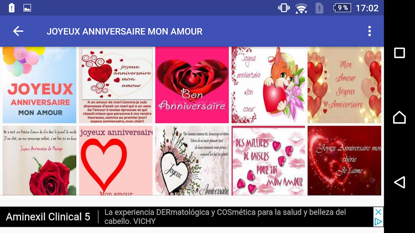 Joyeux Anniversaire Mon Amour 10 Apk Download Comandromo