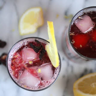Hibiscus Tea Arnold Palmers, Spiked or Sober.