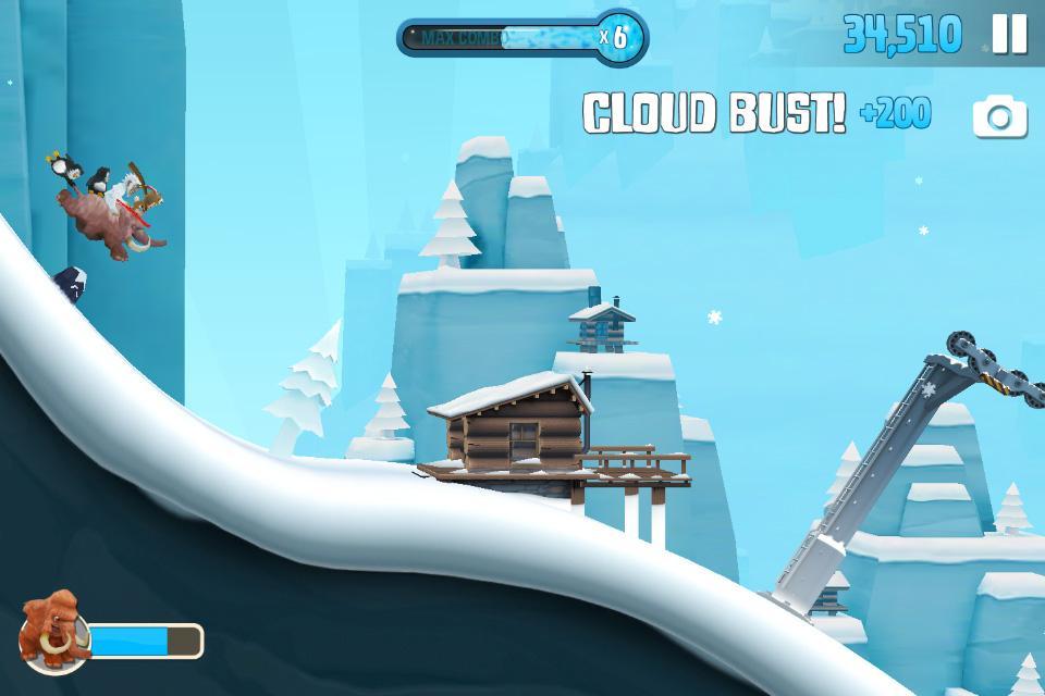 Screenshots of Ski Safari 2 for iPhone