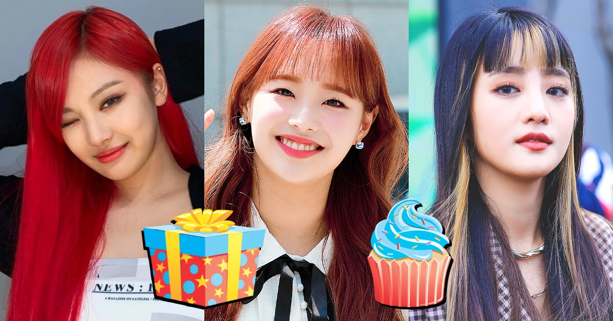 Here Are 25+ Upcoming Female K-Pop Idol Birthdays That Prove October Is A Beautiful Month