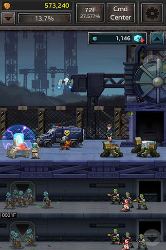 Code Triche Zombie Hive APK MOD screenshots 5