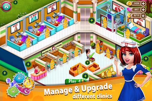 Code Triche Doctor Mania : Hospital Game APK MOD screenshots 4