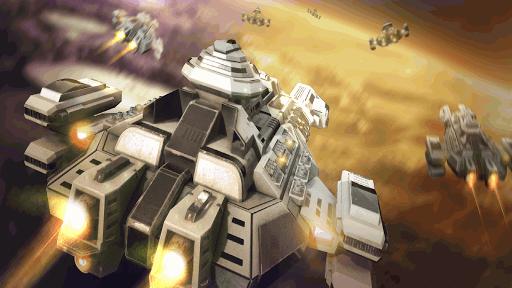 Télécharger Gratuit Ark of War: Galaxy Pirate Fleet APK MOD (Astuce) screenshots 1