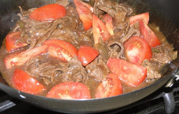 Chinese Beef And Tomatoes Recipe