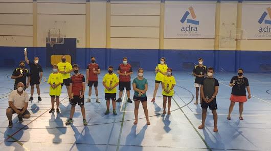 El torneo de bádminton 'Ciudad de Adra 2020' finaliza con éxito