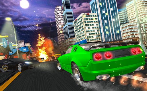 Police Games Car Chase-Free Shooting Games apkmr screenshots 6
