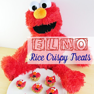 Elmo Rice Crispy Treats