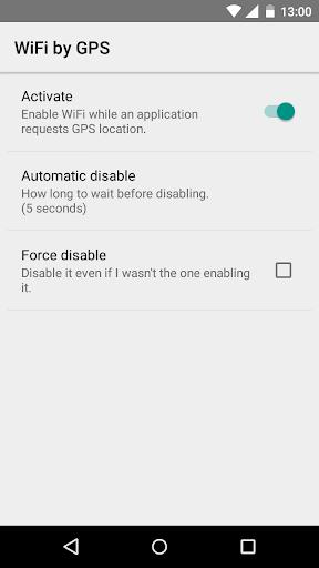 WiFi by GPS Battery