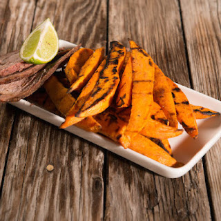 Grilled Sweet Potato Planks.