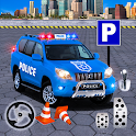 Police Parking Adventure - Car Games Rush 3D icon