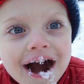 I ATE THE SNOW! by Cindy Swinehart - Babies & Children Children Candids