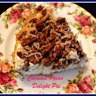 Caramel Pecan Delight Pie!