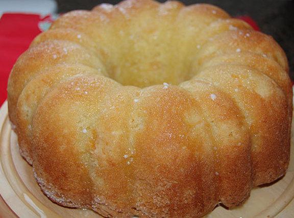 Easy Peach Nut Cake Recipe