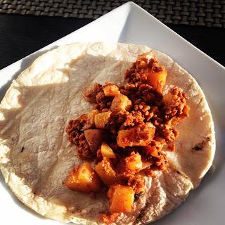 Chorizo con Papas Receta – Mexican Chorizo with Potatoes.