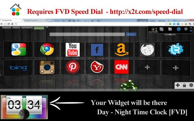 Day - Night Time Clock [FVD]