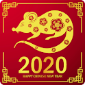 Chinese New Year 2020 icon