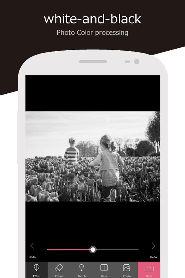 Monochrome Color/Photo Effects- screenshot
