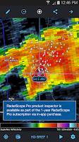 Screenshot of RadarScope
