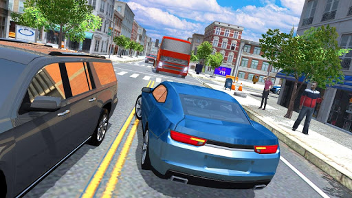 Muscle Car Racing Simulator Screenshot