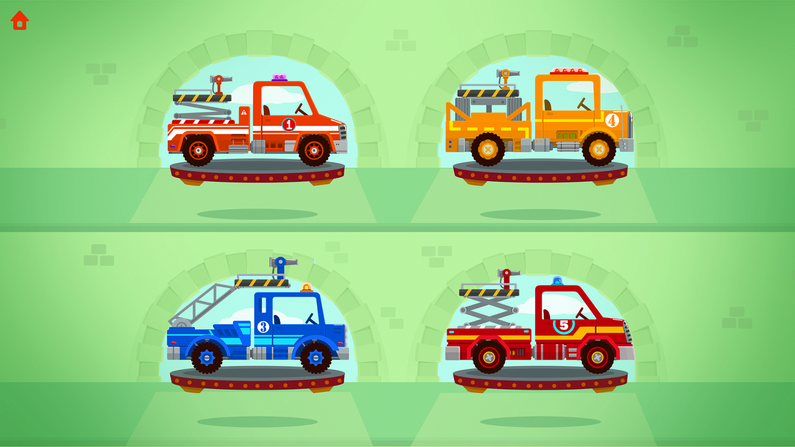 Fire Truck Rescue Free- screenshot