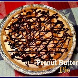 Peanutiest Peanut Butter Pie!