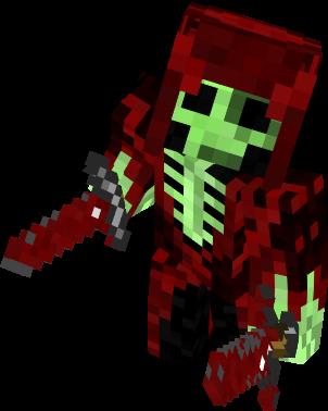 Esqueleto Nova Skin - Skins para minecraft pe guerra