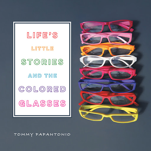 Life's Little Stories and The Colored Glasses cover