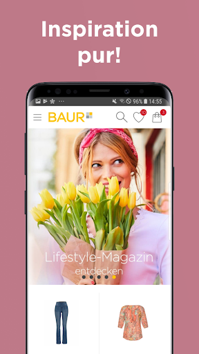 BAUR Mode Wohnen Shopping App screenshot