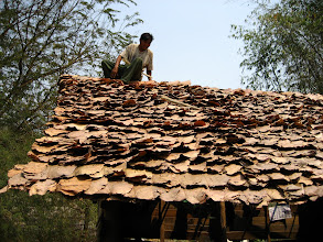 Photo: A local roofer