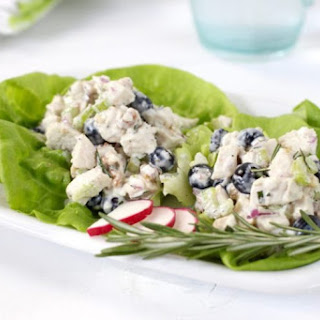 Blueberry Chicken Salad with Rosemary