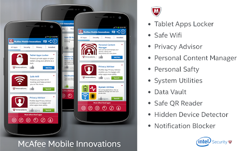 McAfee Security Innovations- screenshot thumbnail