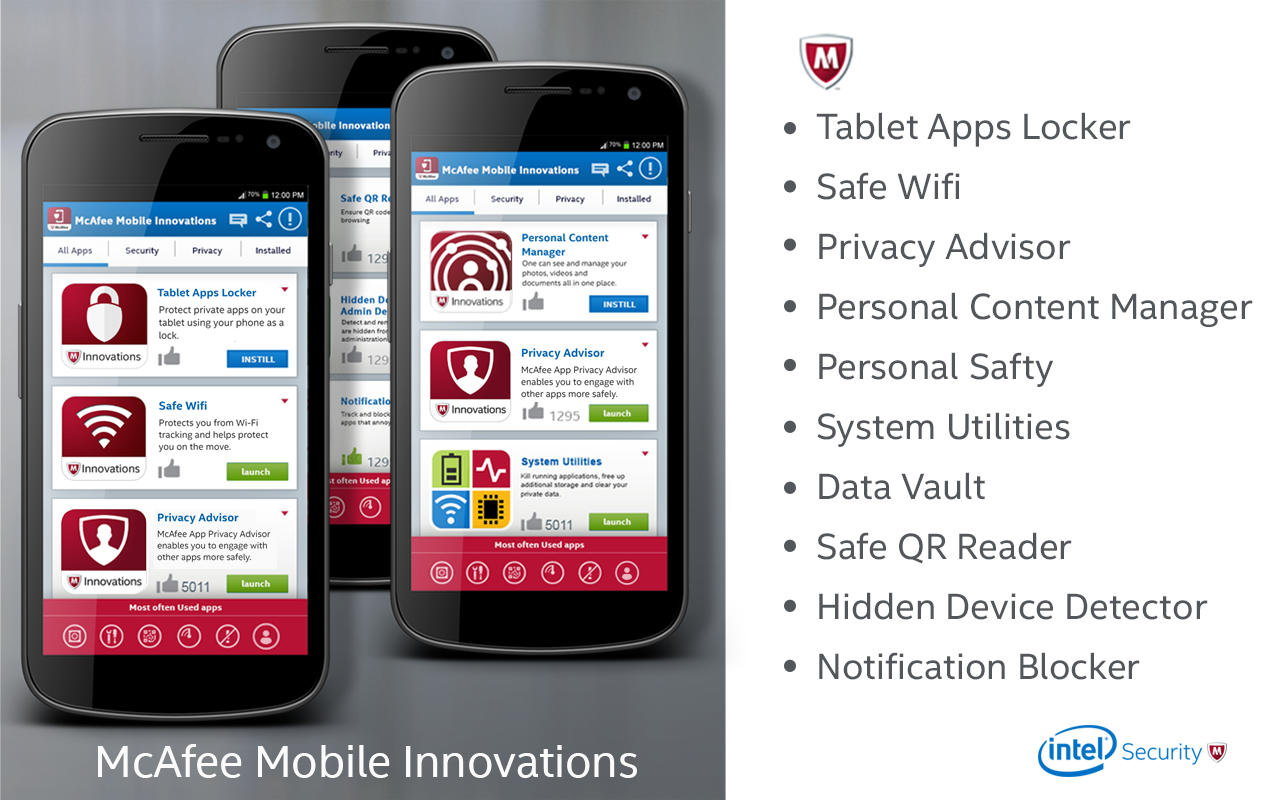 McAfee Security Innovations- screenshot