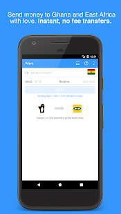 Wave—Send Money to Africa- screenshot thumbnail