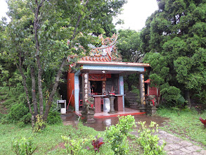 Photo: A small Taoist temple in the mountains