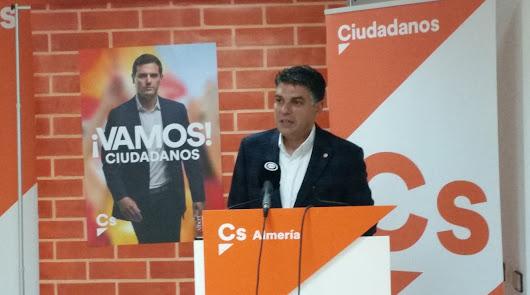Miguel Cazorla, candidato de Cs a la Alcaldía de Almería