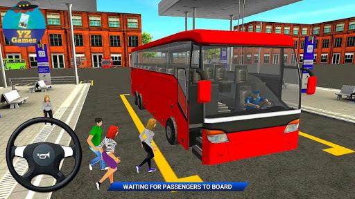 Modern Offroad Uphill Bus Simulator apkpoly screenshots 4