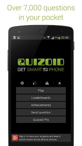 Quizoid: Free Trivia w General Knowledge Questions 4.4.11 screenshots 1