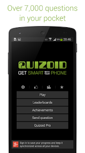 Quizoid: Free Trivia w General Knowledge Questions- screenshot thumbnail