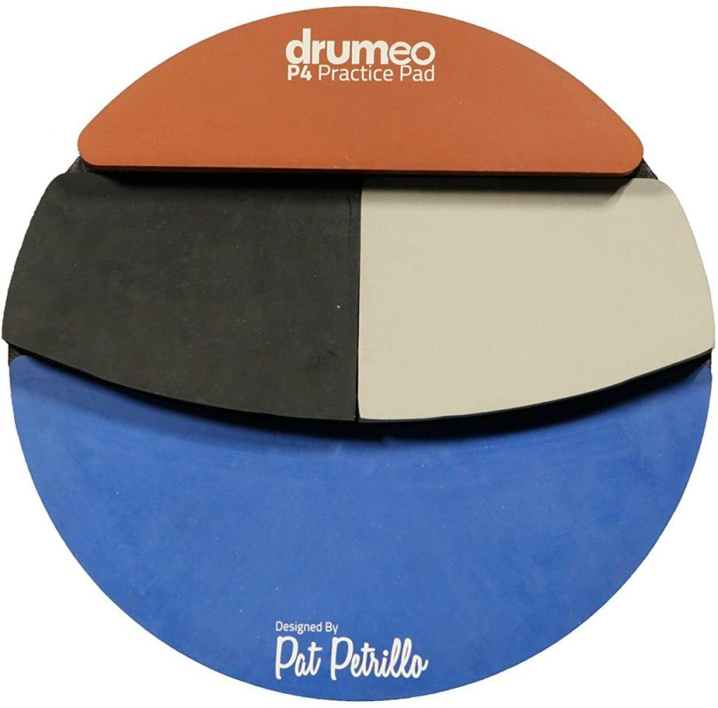 The Drumeo P4 Practice Pad Four Different Playing Surfaces