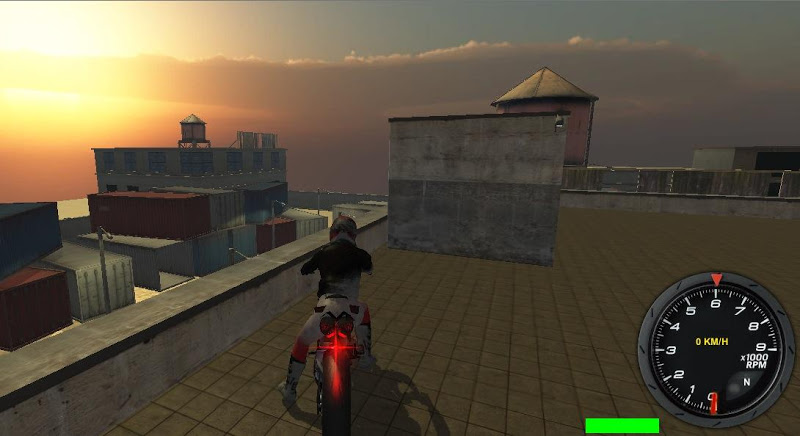 Скриншот Motor Bike Race Simulator 3D