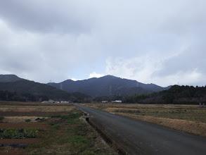 農道から本宮山