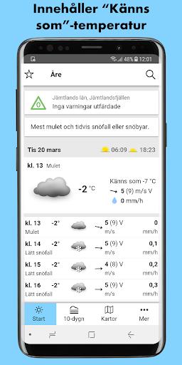 SMHI Vu00e4der 3.0.16 screenshots 1