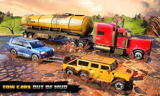 Spin Tires Offroad Truck Driving: Tow Truck Games 1.3 Mod screenshots 3