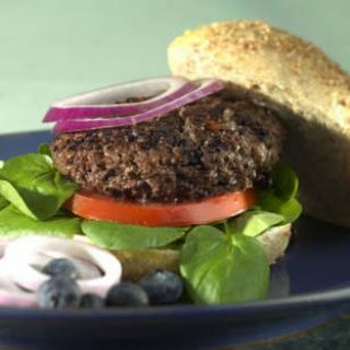 Blueberry-Beef Burgers.